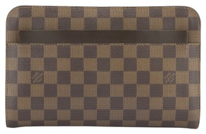 Louis Vuitton Louis Vuitton Damier Ebene Cosmetic Pouch (Authentic Pre Owned)