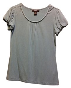 Style & Co petite T Shirt Light blue