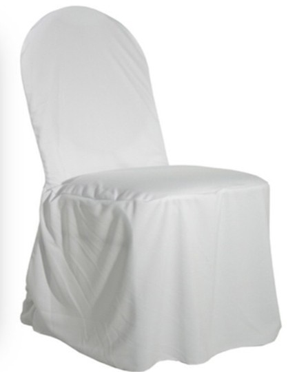 Wedding Chair Covers-white