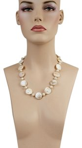 Mother Pearl & Pearls Necklace