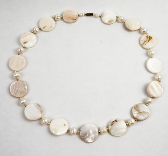 Other Mother Pearl & Pearls Necklace