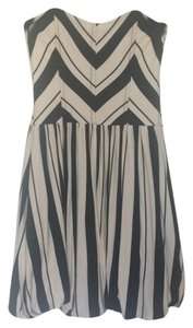 Ella Moss short dress Black/white on Tradesy