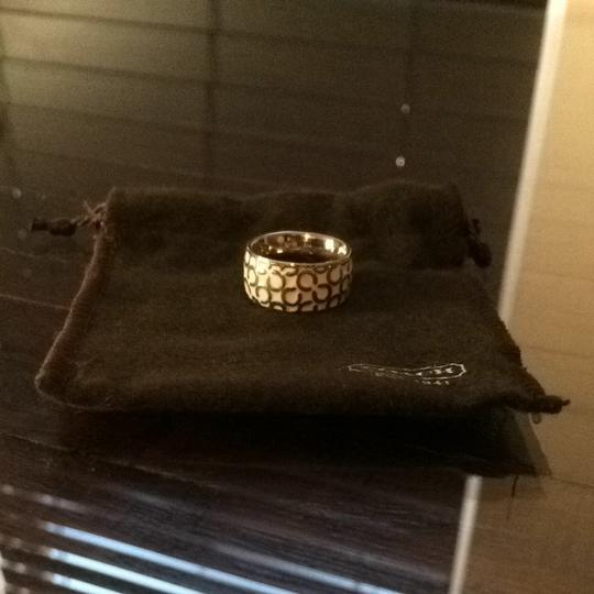 Coach Authentic Coach Ring Size 6
