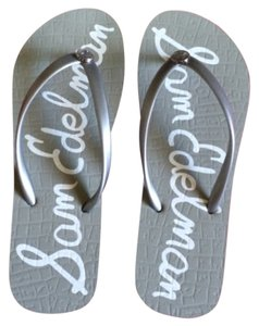 Sam Edelman Grey & white Sandals