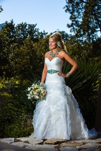 Allure Bridals Allure Bridal Dress Mermaid Rouching Ruffles Wedding Dress