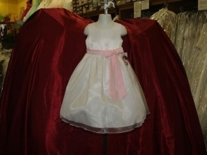 White Size 2 White/pink Flower Girl Dress # Kc1141 Dress