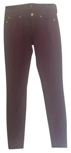 7 For All Mankind Skinny Pants Merlot
