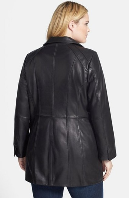 Ellen Tracy Lambskin Real Plus Size New Without Tags Leather Jacket Image 1