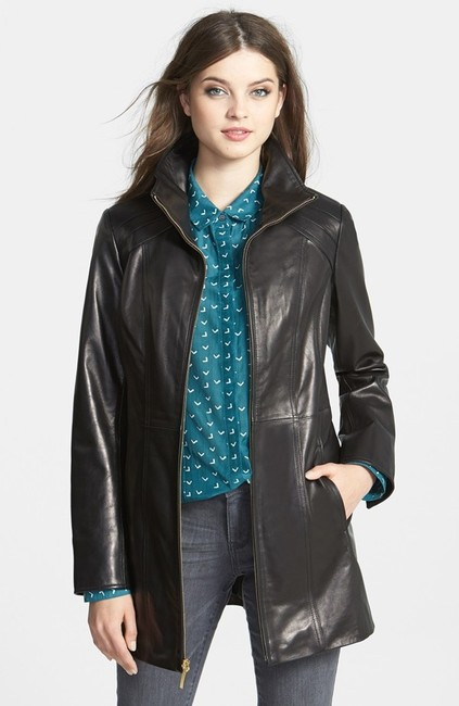 Ellen Tracy Lambskin Real Plus Size New Without Tags Leather Jacket Image 2