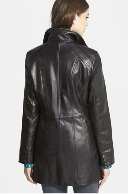 Ellen Tracy Lambskin Real Plus Size New Without Tags Leather Jacket Image 3