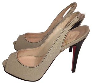 Christian Louboutin Light tan Platforms