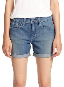 Vince New Cuffed Cuffed Shorts Denim