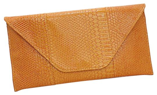 Other Yellow Mustard Gold Clutch