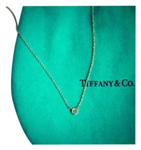 Tiffany & Co. Tiffany & Co Aquamarine Pendant Necklace