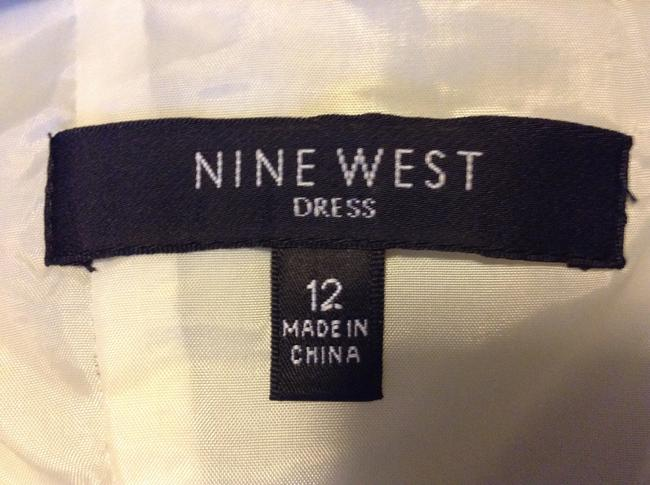 Nine West 97% Cotton 3% Spandex Dress