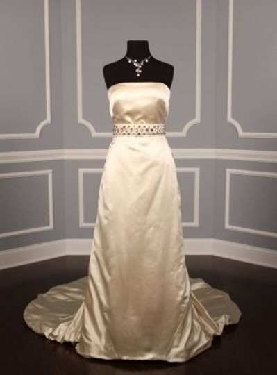 Anne Barge Light Ivory Kelly Belt Sash