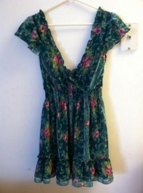 Betsey Johnson short dress Floral on Tradesy
