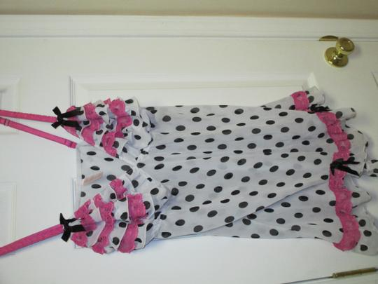 Cacique Cacique By Lane Bryant Polka Dot Babydoll Size 18/20 (2X)