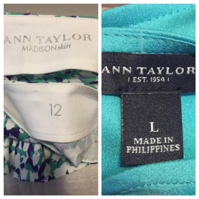 Ann Taylor Madison Skirt and Blouse