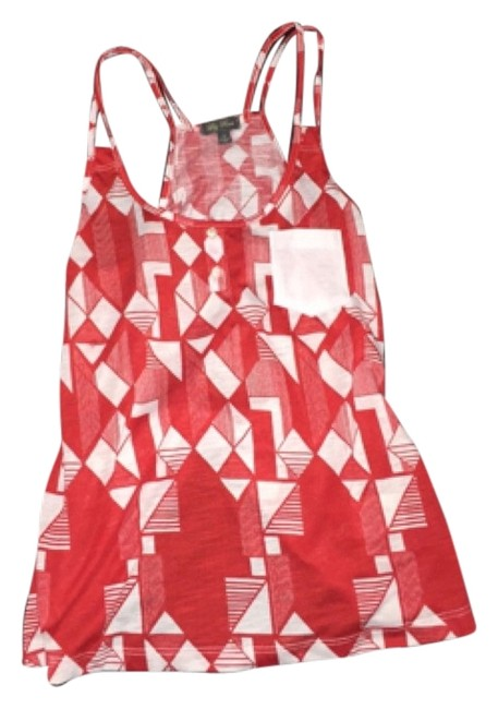 Preload https://item1.tradesy.com/images/lily-rose-tank-top-redwhite-4766785-0-0.jpg?width=400&height=650