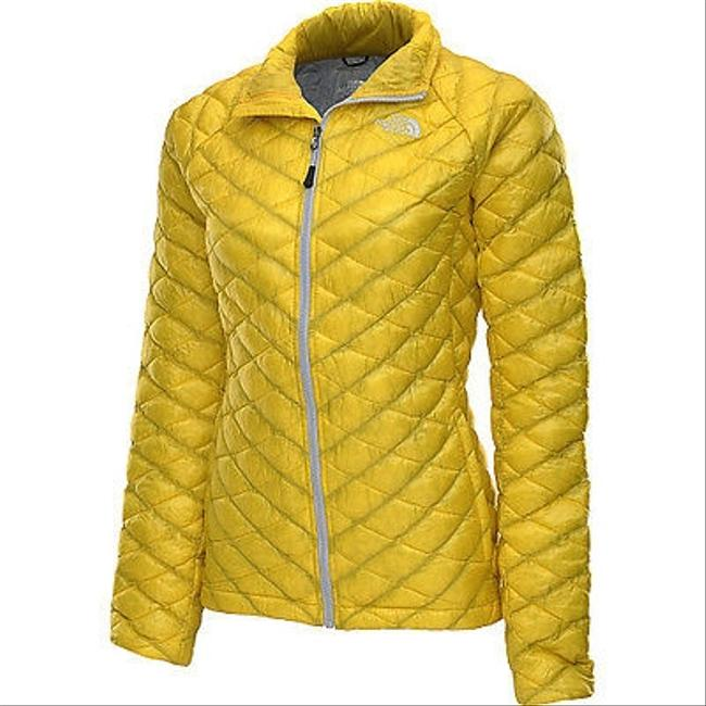 Other Womens North Face Yellow Lightweight Primaloft Thermoball Dandelion Yellow Jacket