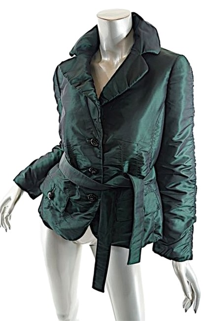 Preload https://item5.tradesy.com/images/armani-collezioni-emerald-green-polyester-satin-wlite-padding-spring-jacket-size-6-s-4768174-0-0.jpg?width=400&height=650