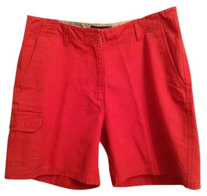Eddie Bauer 100% Dress Shorts Burnt Orange