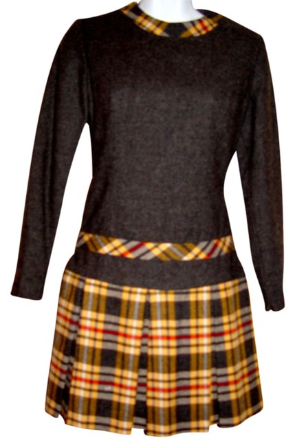 Preload https://item3.tradesy.com/images/gray-wool-yellow-plaid-vtg-prepster-and-pendleton-mod-mini-short-casual-dress-size-6-s-4768762-0-0.jpg?width=400&height=650
