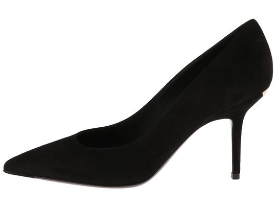 Burberry Watford Classic Suede Black Pumps