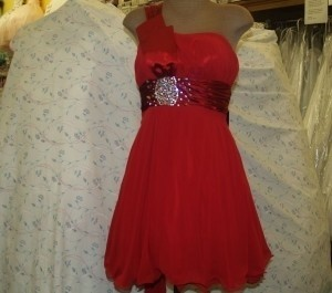 Red Mariana Deep Red Size: Small #2621 Dress
