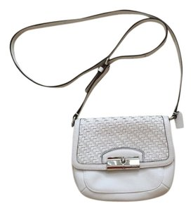 Coach White Messenger Bag
