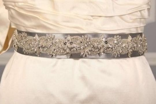 Anne Barge Platinum Lf193 B Beaded Embellished Sash