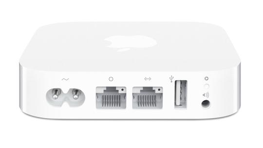 Apple Apple White Airport Express Base Station, Model MC414LLA (WIRELESS ROUTER)