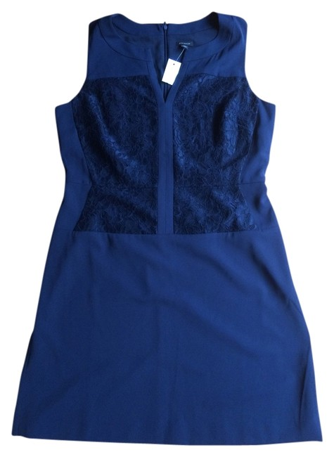 Preload https://item3.tradesy.com/images/ann-taylor-lace-bodice-knee-length-workoffice-dress-size-14-l-4771537-0-0.jpg?width=400&height=650