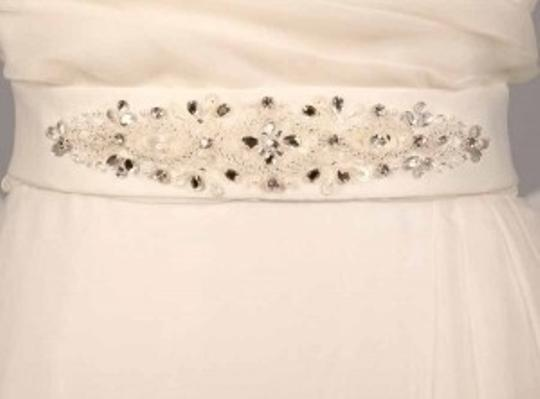 Very Light Ivory Your Dream Dress Exclusive Sblt17 Embellished Sash