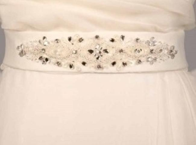 Very Light Ivory Your Dream Dress Exclusive Sblt17 Embellished Sash Very Light Ivory Your Dream Dress Exclusive Sblt17 Embellished Sash Image 1
