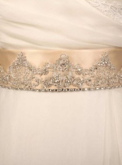 Champagne Your Dream Dress Exclusive B502 Embellished Sash Sashes