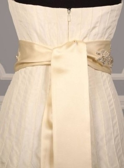 Ivory Your Dream Dress Exclusive Crystal Beaded B533 Satin Sash