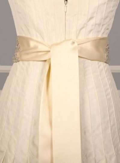 Cream Your Dress Exclusive Crystal Beaded B500 Satin Sash Sashes