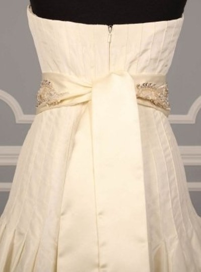 Ivory Your Dream Dress Exclusive Crystal Beaded B532 Satin Sash Sashes
