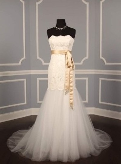 Champagne Your Dream Dress Exclusive Crystal Beaded B524 Satin Sash Sashes