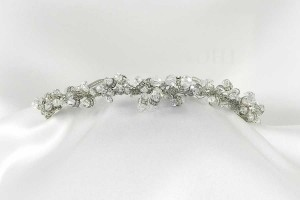 Fenaroli For Regalia M568 Silver Headpiece Tiara
