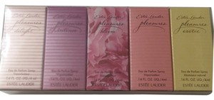 ESTEE LAUDER TRAVEL EXCLUSIVE BEST OF PLEASURE COFFRET SET Estee Lauder PLEASURES MINI