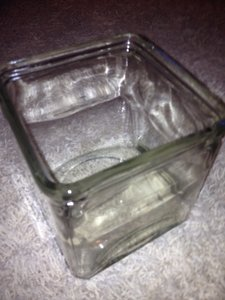 Other Never Been Used Glass Square Vases Centerpiece