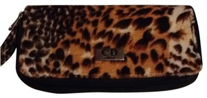 Cd paris Brown/black Clutch
