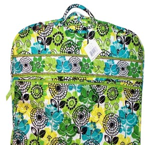Vera Bradley Limes Up Green teal Travel Bag