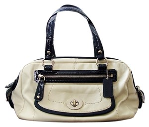 Coach Satchel Tote Ivory Shoulder Bag