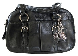 Coach Charms Satchel in Black