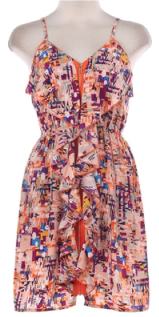 T.J.Maxx short dress Orange on Tradesy