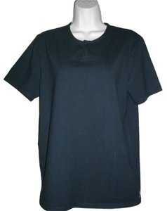 A|X Armani Exchange Black A/X Armani Exchange Large L T Shirt Pullover Short Sleeve Cotton Stretch Top